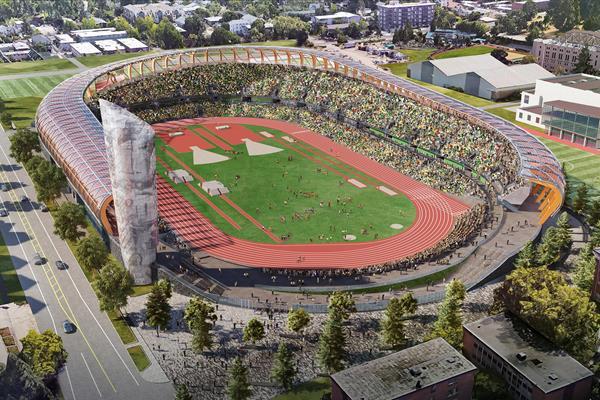 El Mundial de Eugene pasó para el 2022 1